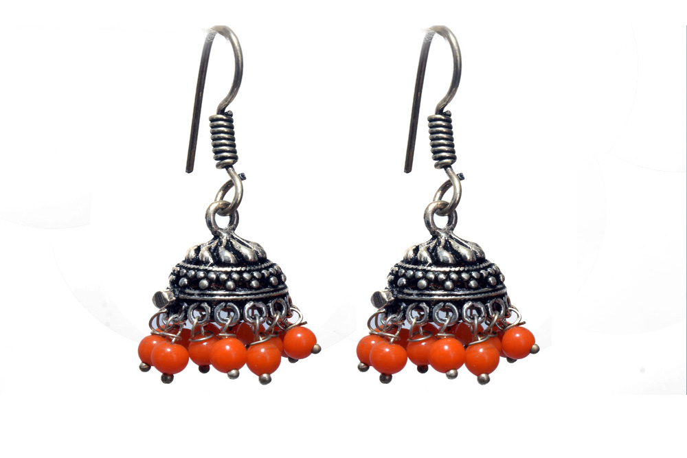 Orange byte Earring