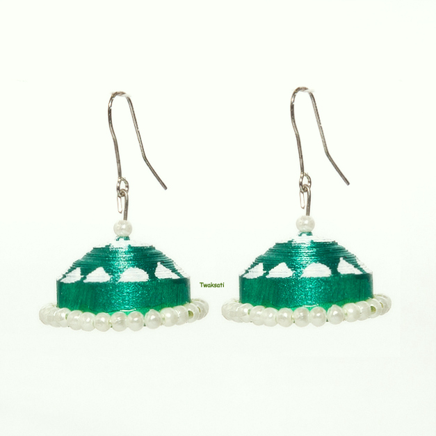 Aqua Green Earring