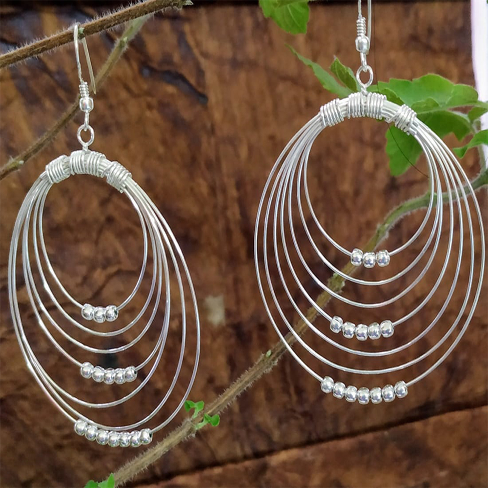 CONCENTRIC EARRINGS BIG